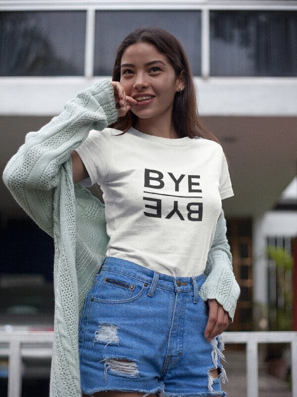 T-Shirt BYE BYE
