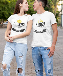 kings and queens couple shirts