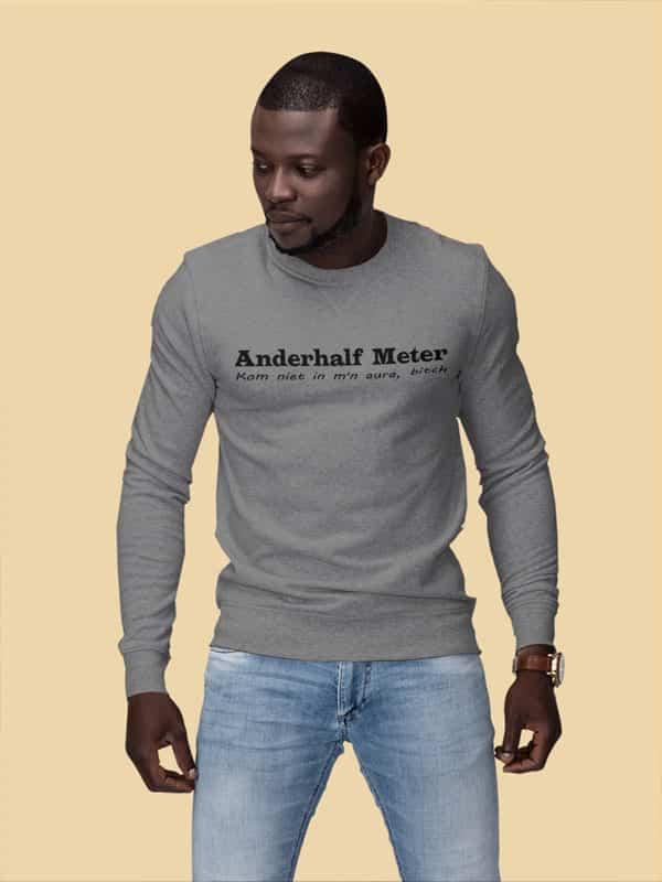Anderhalf Meter Sweater Grijs