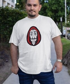 La Casa de Papel Shirt Mask