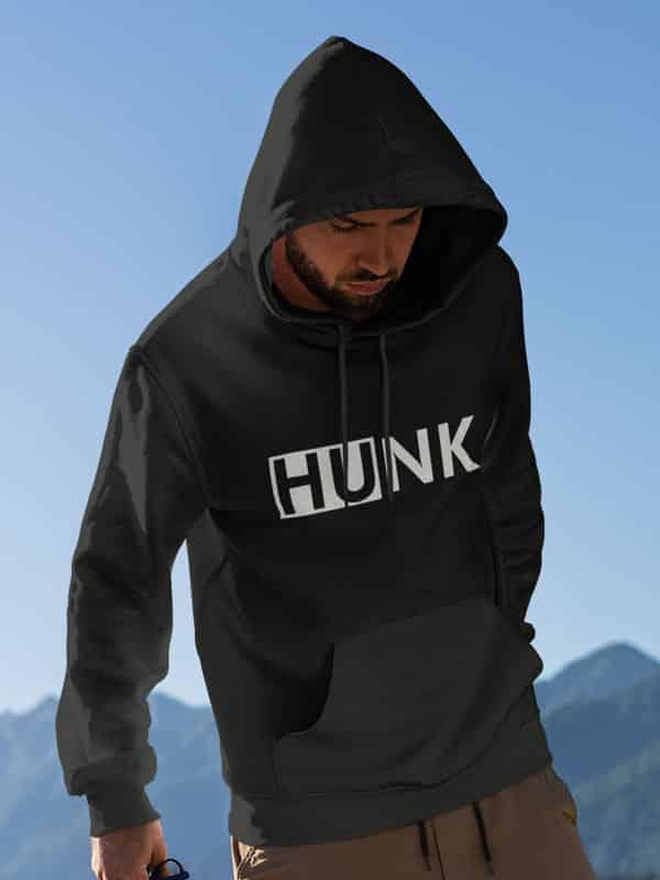 Hunk Hoodie Zwart