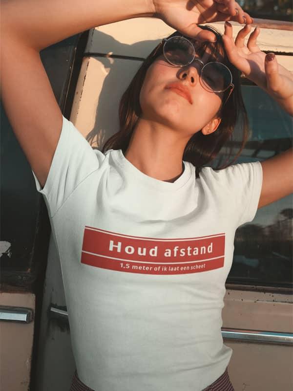 Shirt Houd Afstand