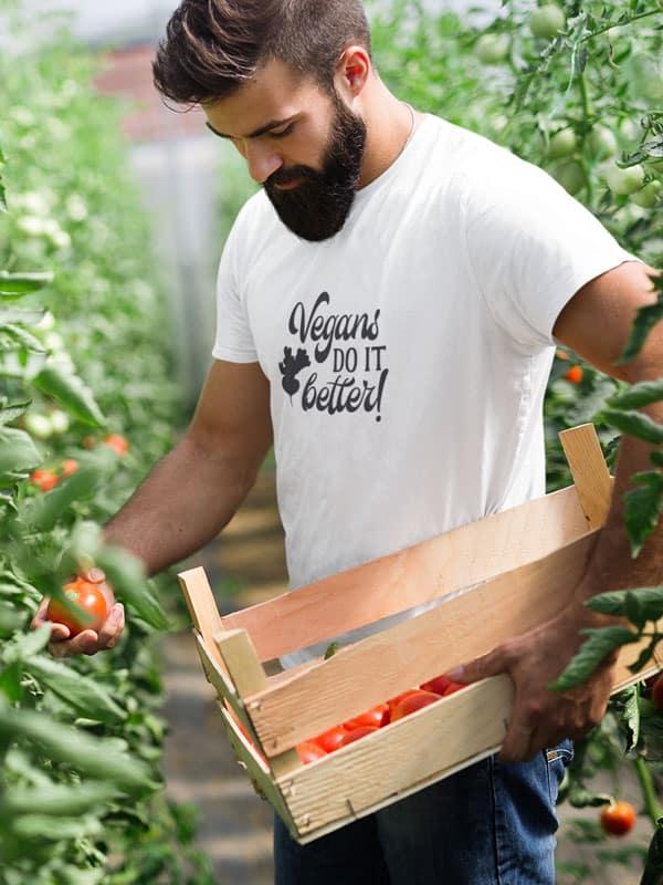 vegans do it better unisex t shirt