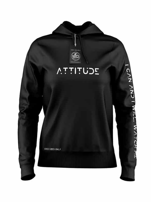 Attitude Hoodie Zwart