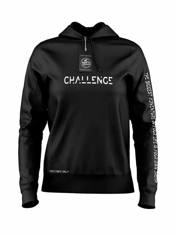 Challenge-Hoodie-Zwart