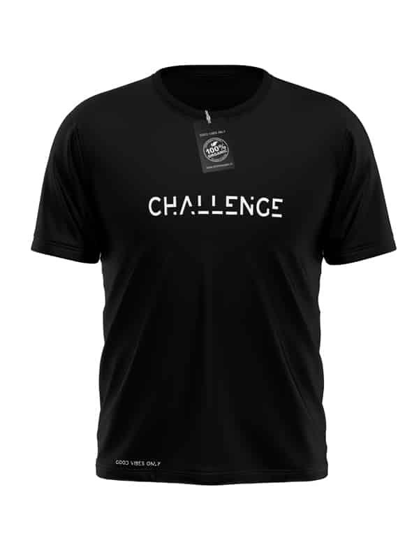 Challenge-T-Shirt-Zwart