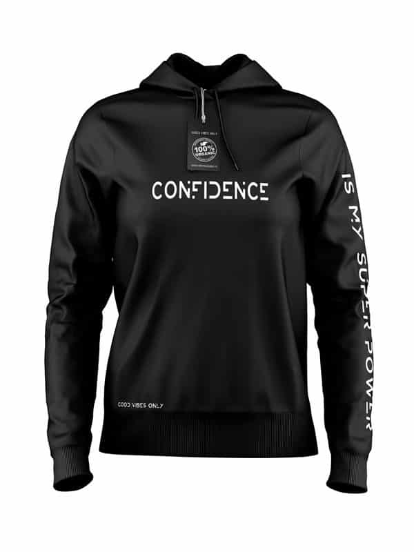 Confidence Hoodie Zwart