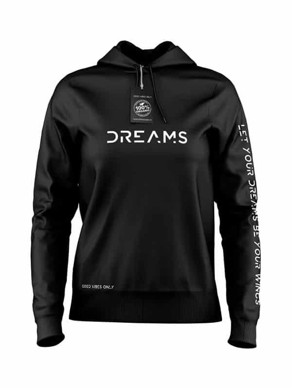 Dreams Hoodie Zwart