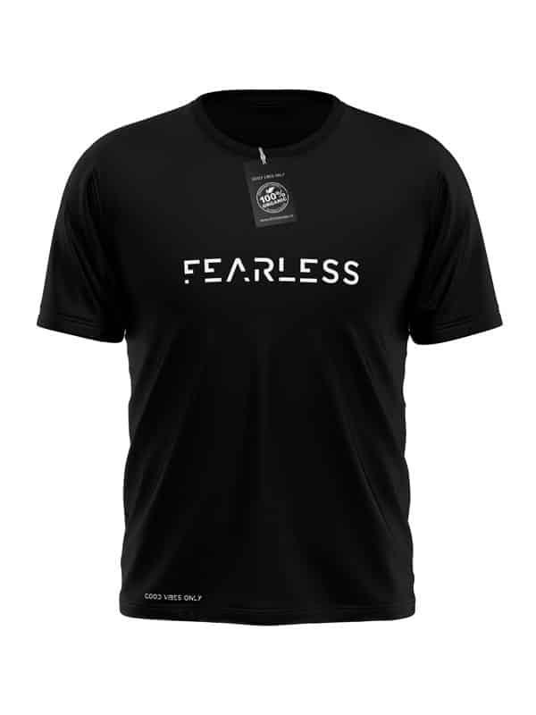 Fearless T-Shirt Zwart