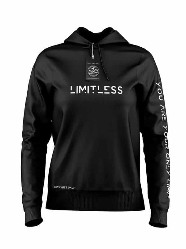 Hoodie Limitless Zwart