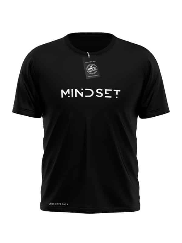 Mindset T-Shirt Zwart