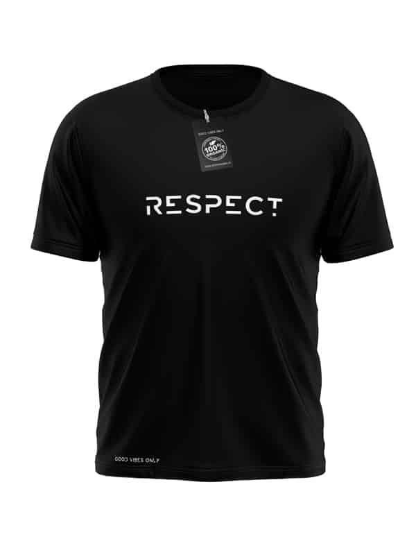 Respect-T-Shirt-Zwart