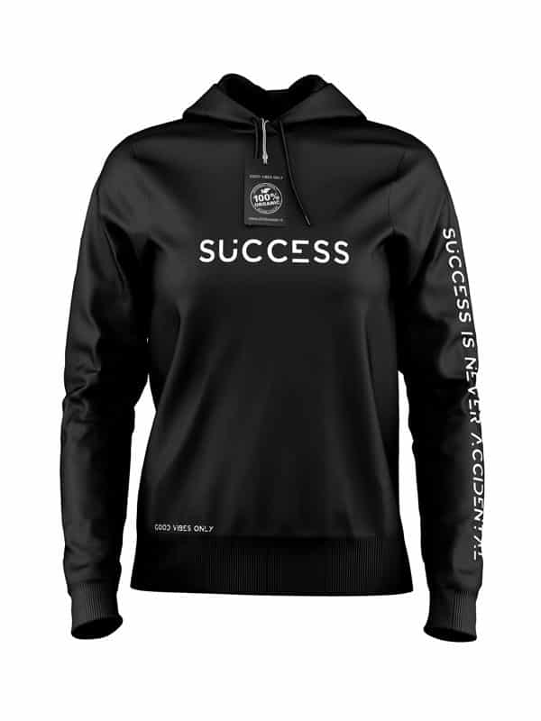 Success Hoodie Zwart