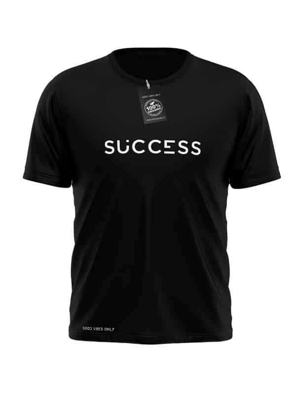 Success T-Shirt Zwart