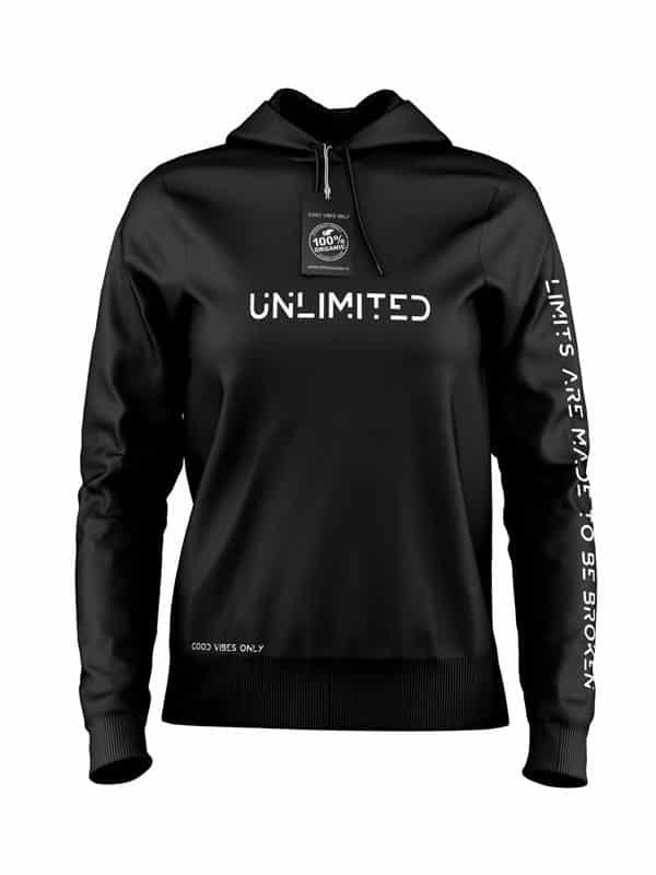 Unlimited Hoodie Zwart