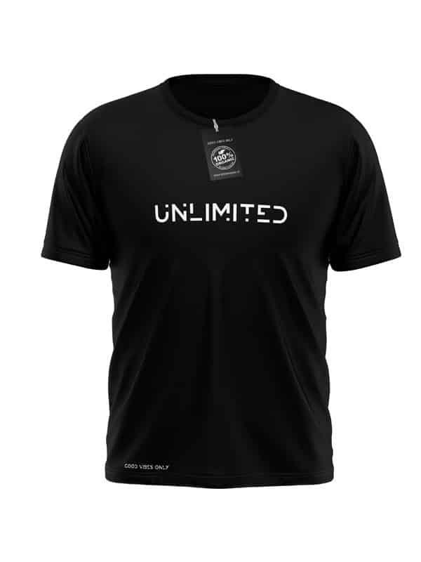 Unlimited T-Shirt Zwart