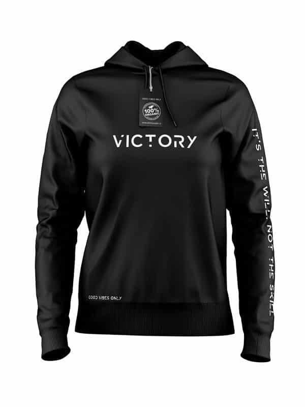 Victory Hoodie Zwart