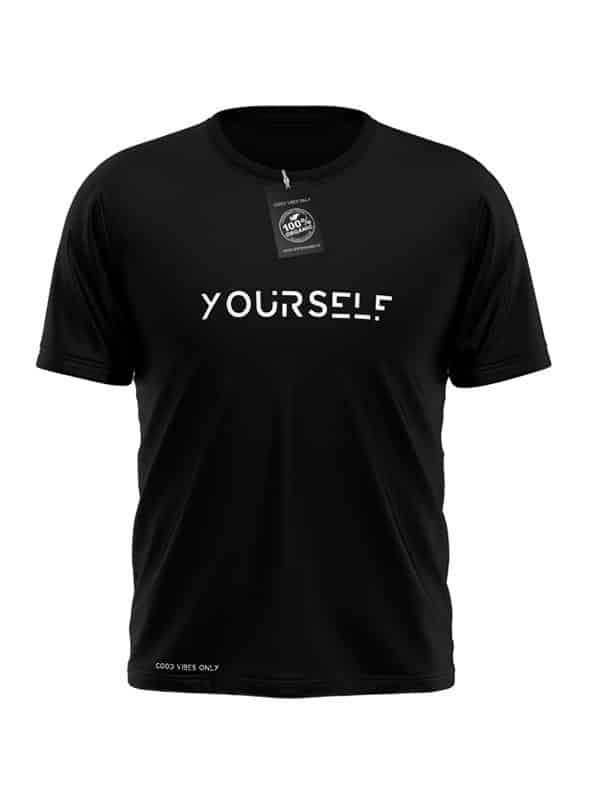 Yourself T-Shirt Zwart