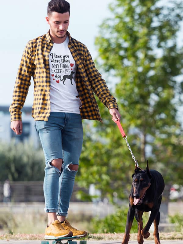 I Love You More than Anything Except the Dog Shirt
