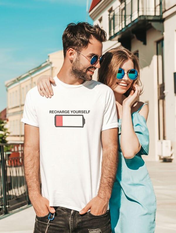 Recharge Yourself Unisex T-Shirt