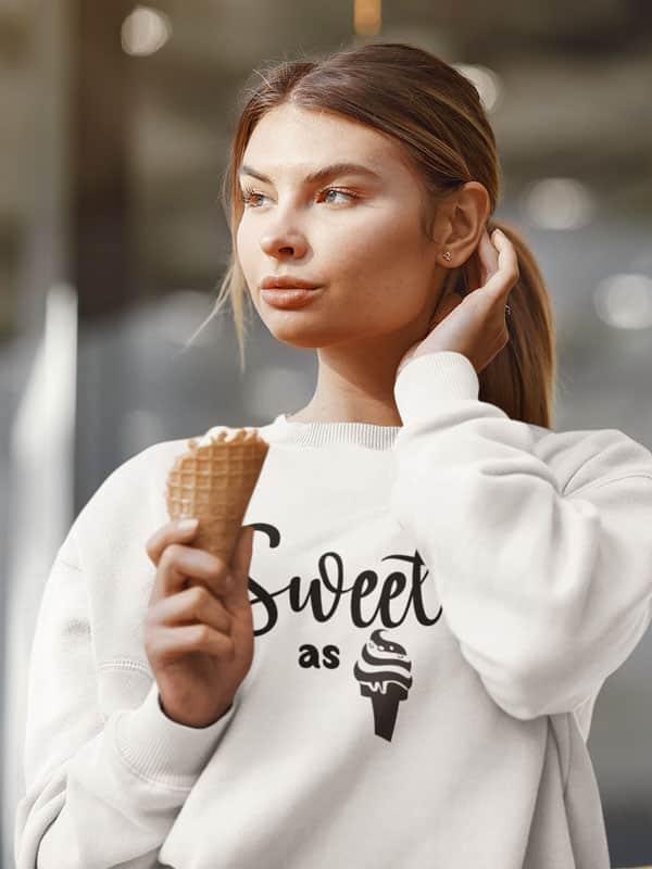 Sweet as Ice Cream Sweater